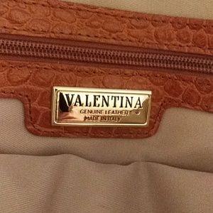 Valentina leather crossbody purse